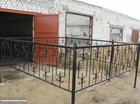 Оградка на кладбище 80см.