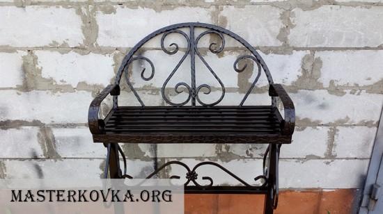 Лавочка на кладбище. 6500р. МАСТЕР КОВКА. Ликино-Дулёво.