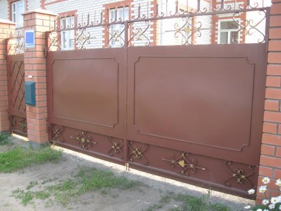 Ворота сварные. д. Кабаново