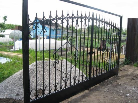 Ворота сварные. Дулевские дачи
