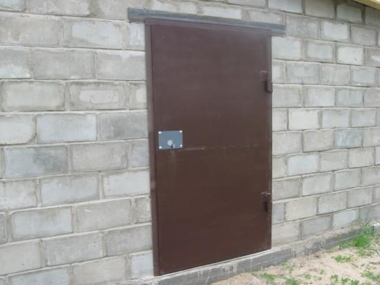 Металлическая дверь. Орехово-Зуево