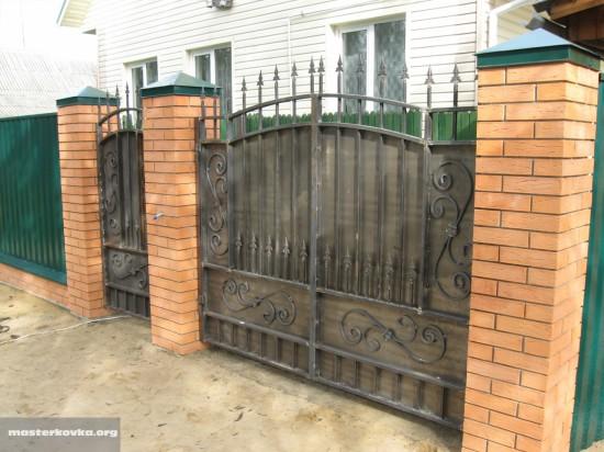 Ворота сварные от Мастер Ковка