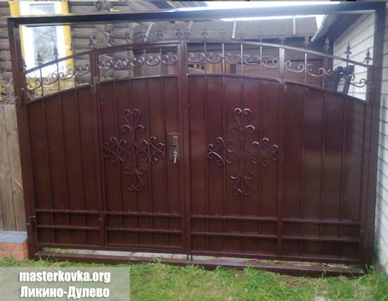 Ворота c калиткой  д. Старская