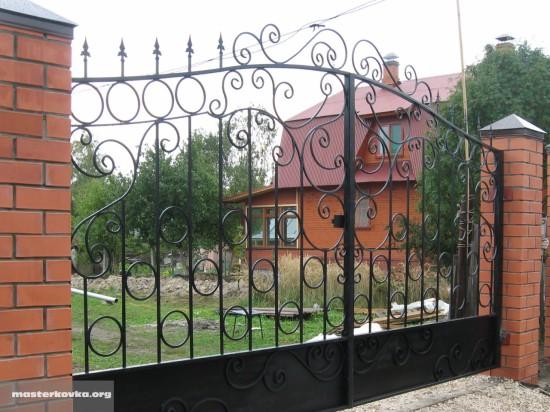 Ворота от Мастер Ковка