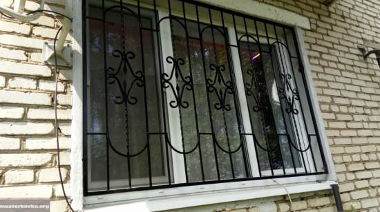 Решетки на окна. Павловский Посад.