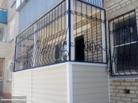 решетки на балкон Ликино Дулево