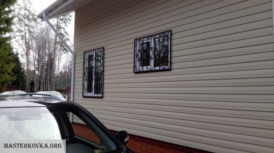 Решетки на окна снт Старт-2 Малая Дубна