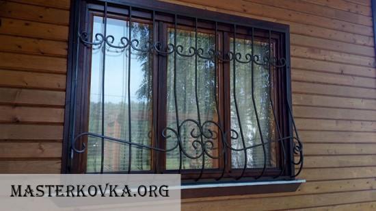 Решетки на окна Орехово-Зуево. СНТ Альбатрос