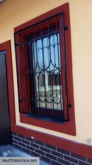 Решетки на окна город Дрезна