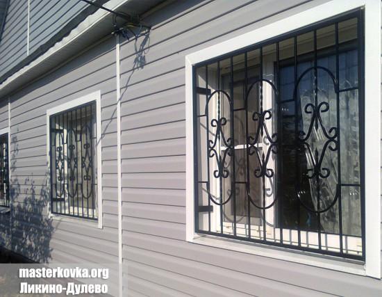 Решетки на окна деревня Мисцево