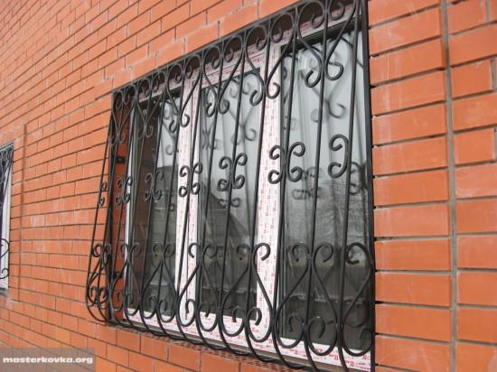 Решетки на окна. СНТ