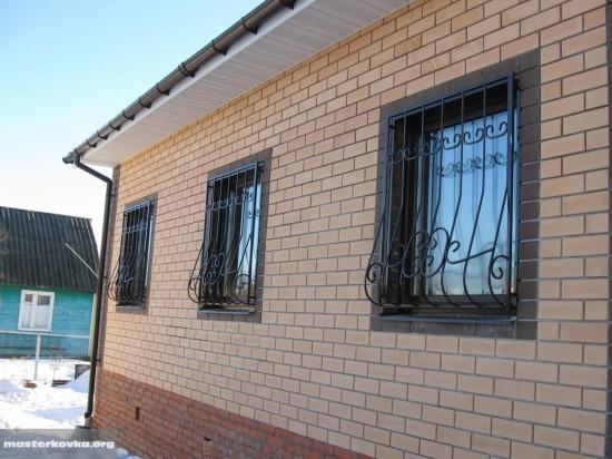 Решетки на окна СНТ