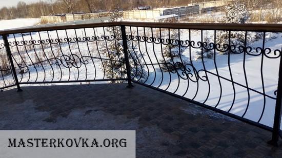 Балконное ограждение г. Куровское