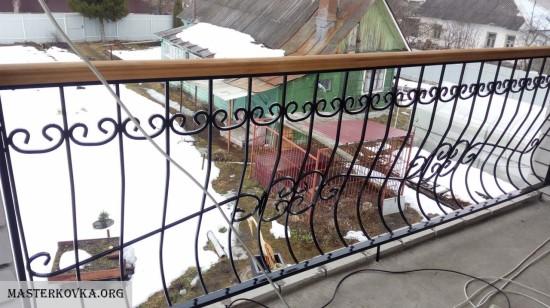 Ограждение балкона, Ликино-Дулёво