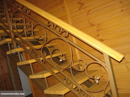 Лестница и перила деревня Смолёва