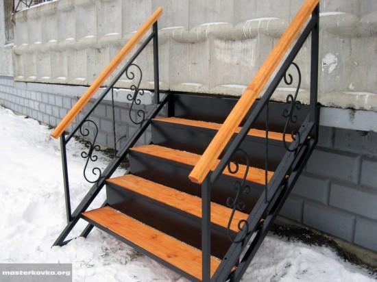 Лестница сварная. Орехово - Зуево.