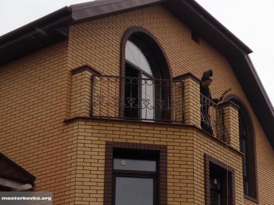 Балконное ограждение деревня Ефимово