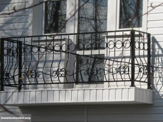 Балконное ограждение СНТ