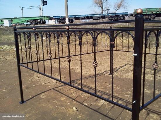 Ритуальная ограда 70 см