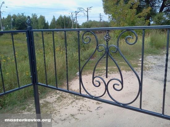 Ритуальная ограда г. Ликино - Дулево