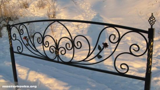 Ритуальная ограда.