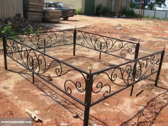 Ритуальная ограда. г. Ликино - Дулево.