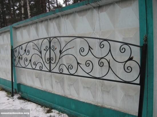 Секция ритуальной ограды (4 метра). г.Куровское.