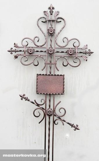 Крест кованный