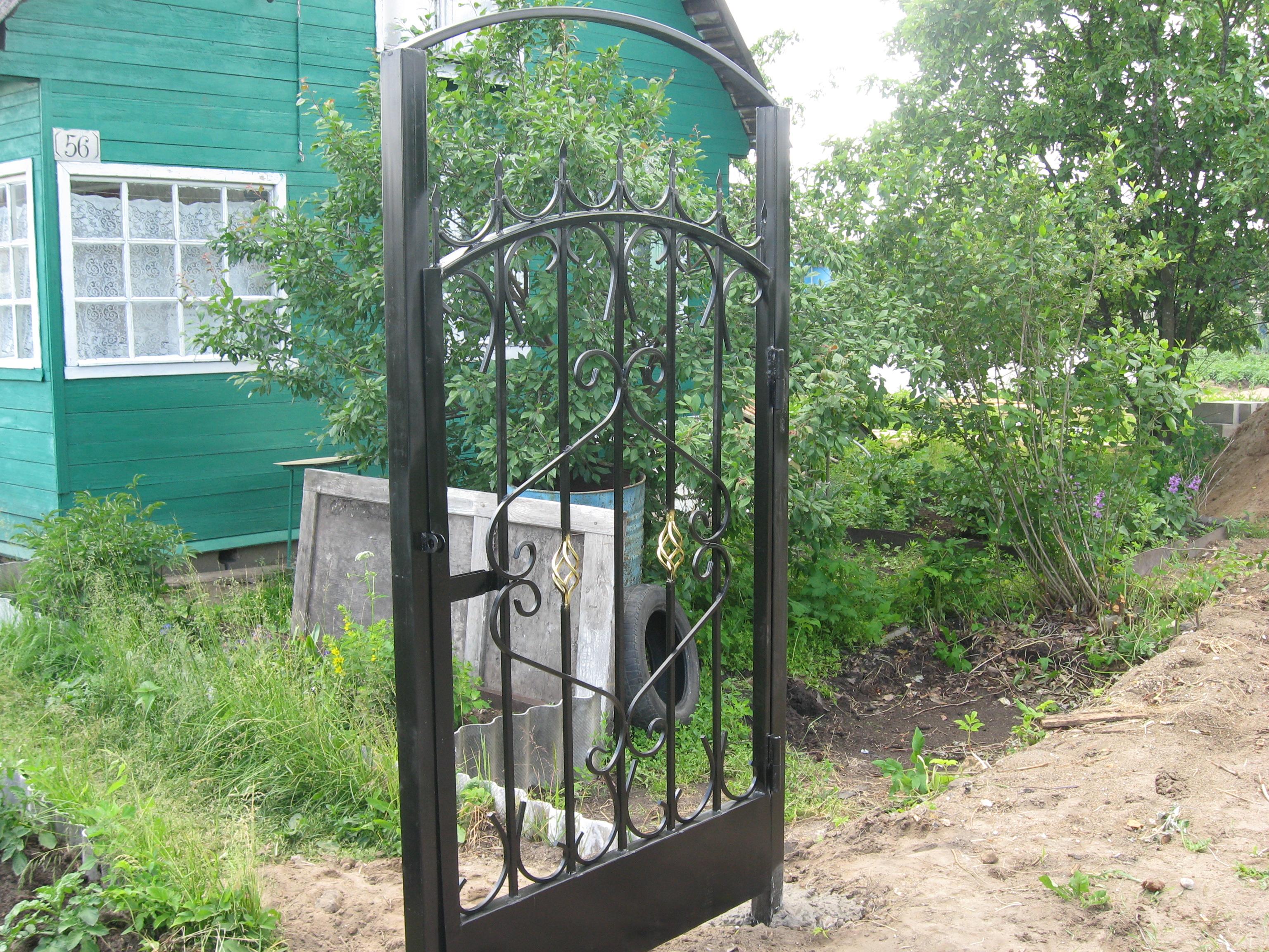 Сварить металлические ворота своими руками