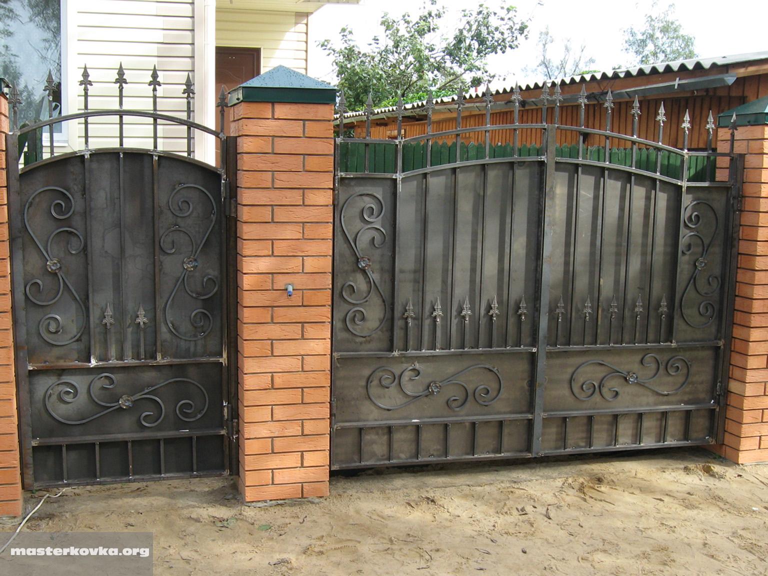 Сделать ворота из металла