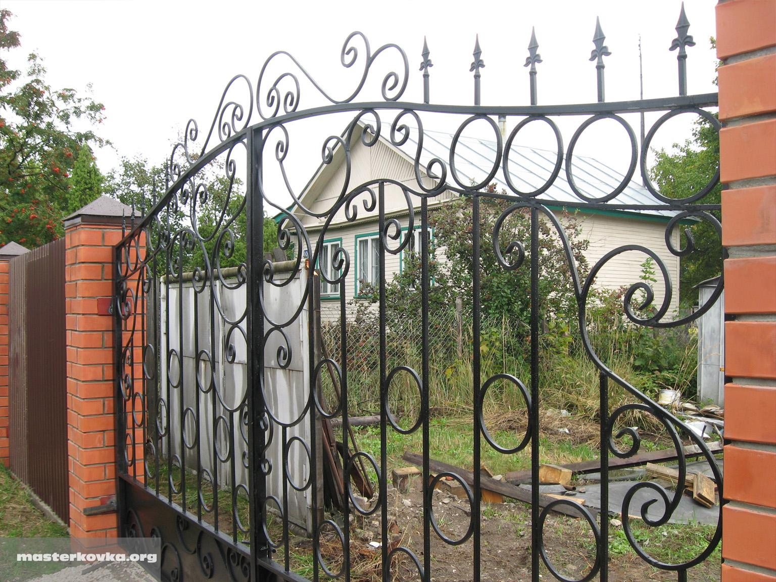 Ворота по фен шуй фото 8