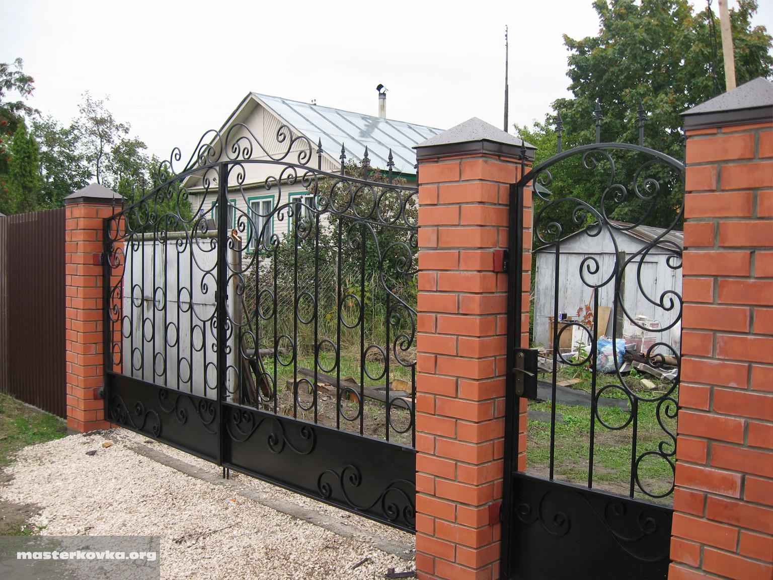Ворота по фен шуй фото 2