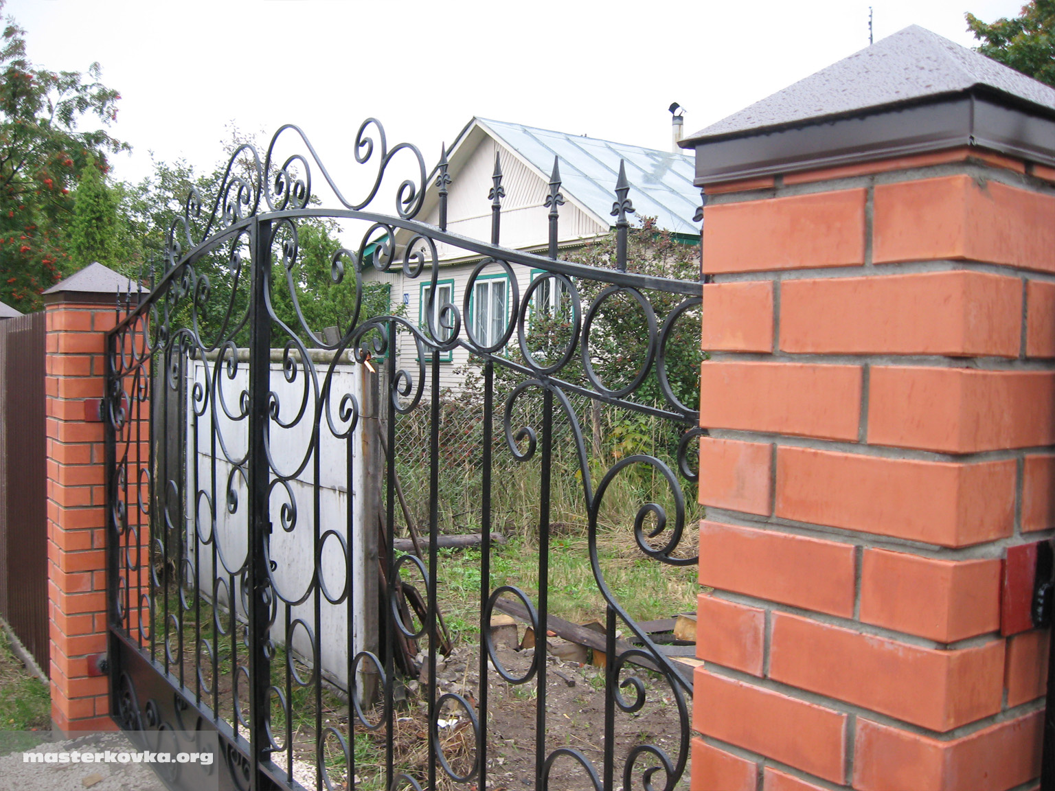 Ворота по фен шуй фото 6
