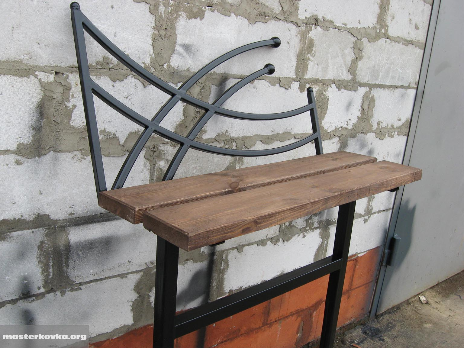 Изготовление лавки - скамейки, своми руками - 1 23 76
